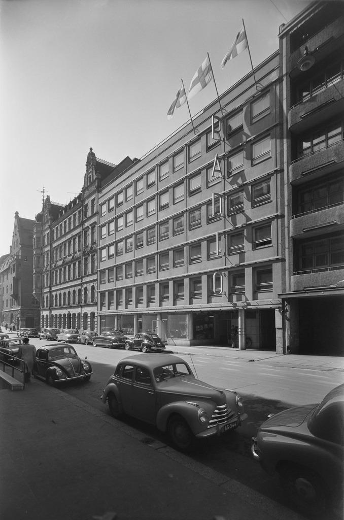 The Radio House, Unioninkatu, Helsinki, ca. 1953.