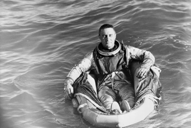 GRISSOM, VIRGIL I., ASTRONAUT - RECOVERY