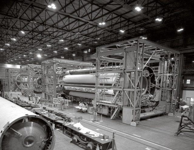 Saturn I stages - Saturn Apollo Program
