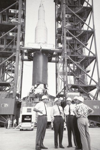 Saturn 1 launch vehicle -  Apollo Program
