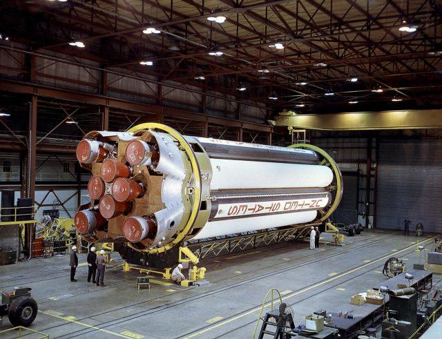 Saturn I S-1 stage - Saturn Apollo Program