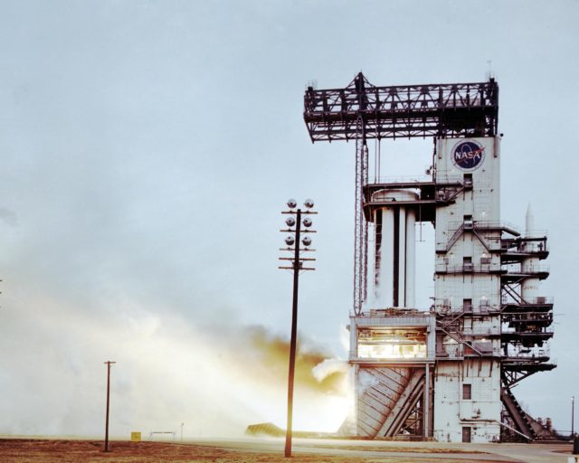 Saturn I test - Saturn Apollo Program