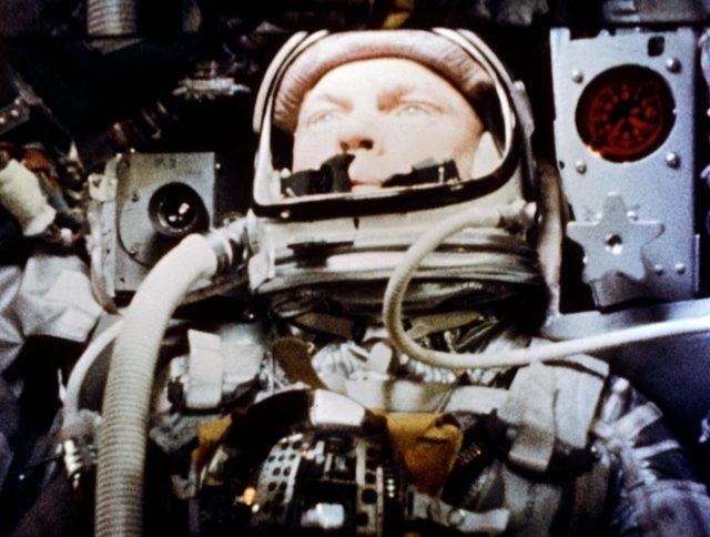 "Camera Aboard ""Friendship 7"" - Astronaut John Glenn - Spaceflight"