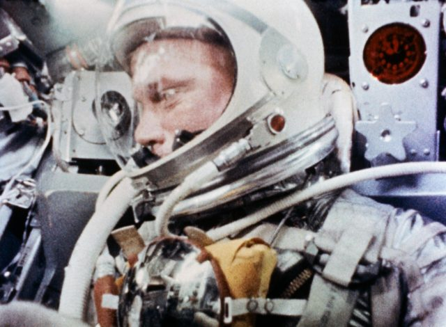 "Camera Aboard ""Friendship 7"" - Photographs Astronaut John Glenn During Spaceflight"