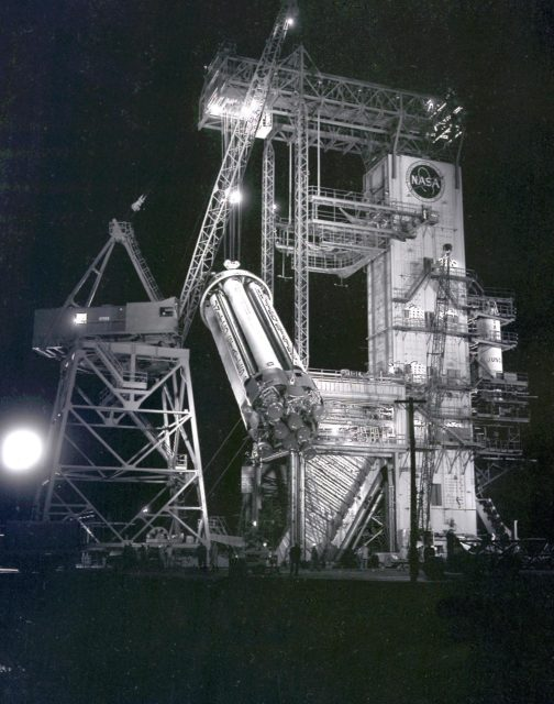 Saturn Apollo Program - SA-1 booster (Saturn I S-I stage)