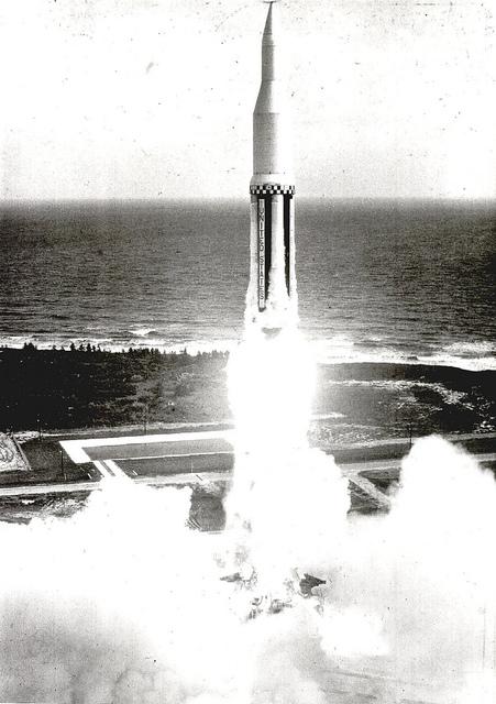 First Saturn (SA-1) Launch