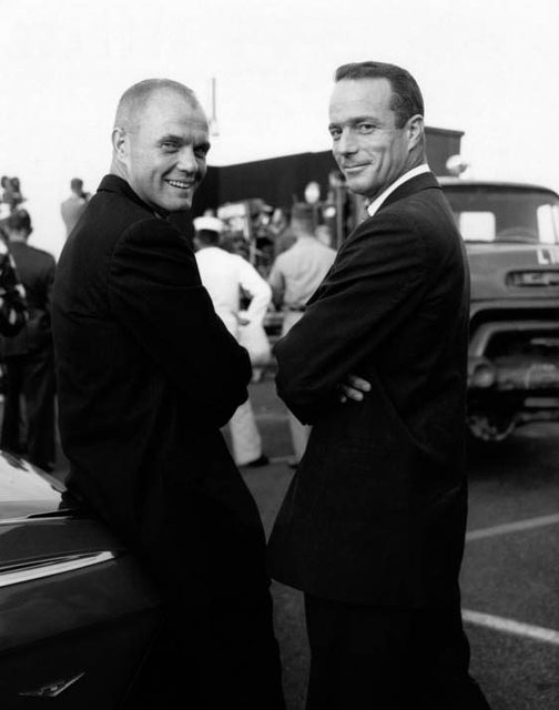 John Glenn and Scott Carpenter