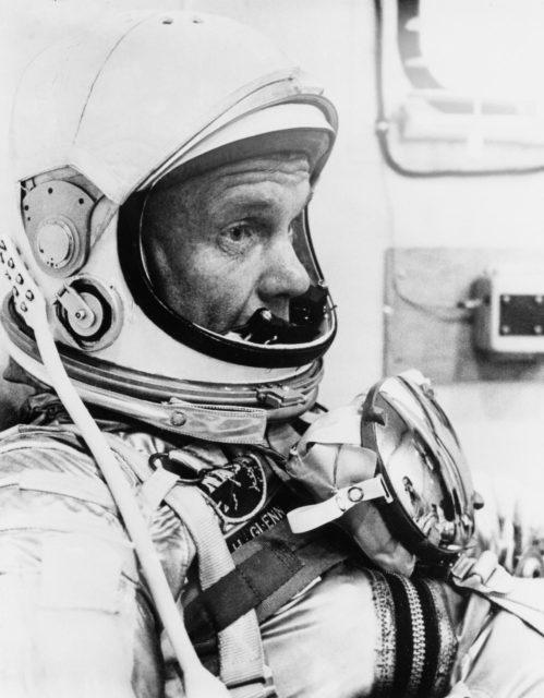 ASTRONAUT GLENN, JOHN - MERCURY SPACE SUIT