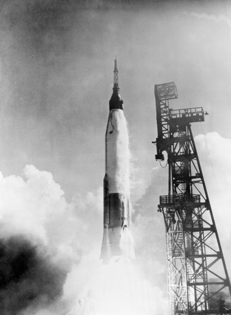 Launch of the Mercury-Atlas 6 mission