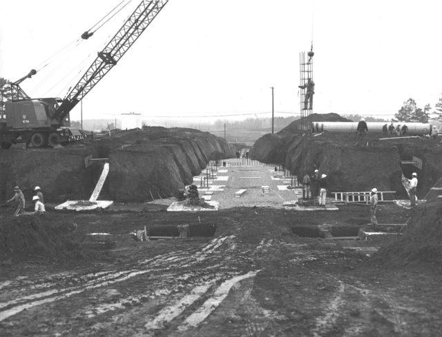 Marshall Space Center construction progress