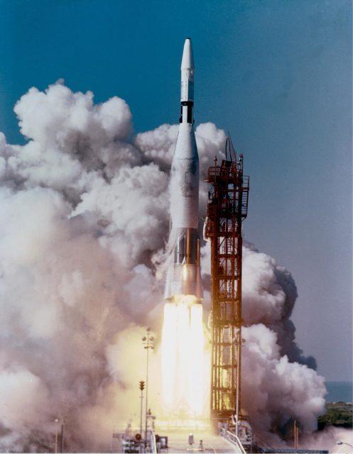 Launch Vehicles - Atlas-Agena-4