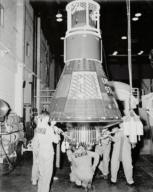 Mercury 8 in Hanger