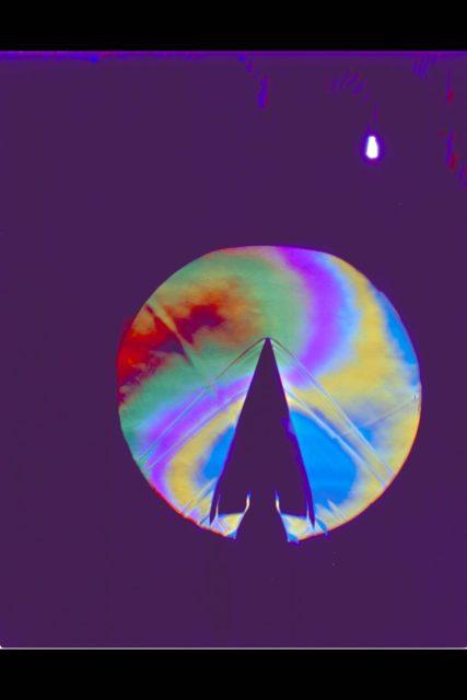 X-20 Dyna Soar on 624-A Titan III Booster: Schlieren ARC-1963-AC-30351-4