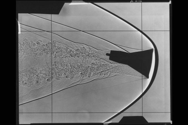 Shadowgraph: Gemini capsule flight stability study ARC-1963-A-31214
