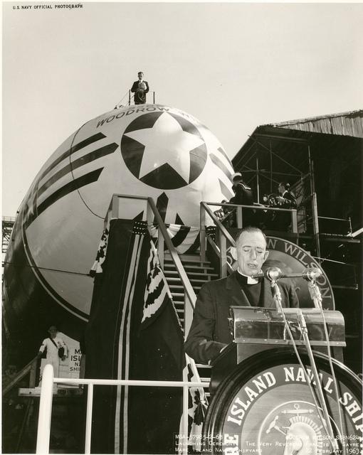 USS Woodrow Wilson Launching Ceremony