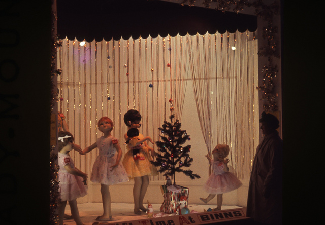 Binns festive windows