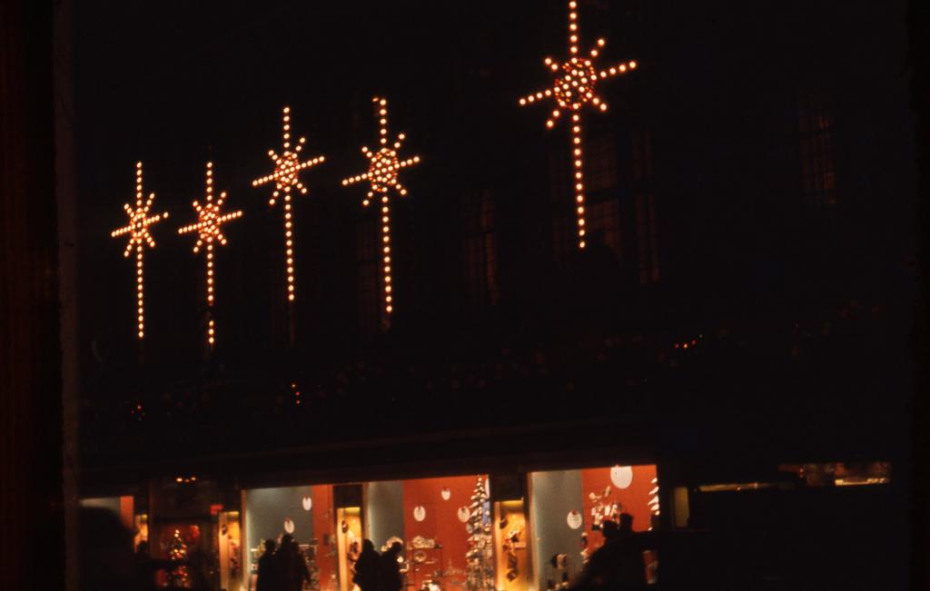 Christmas Stars in Fenwicks