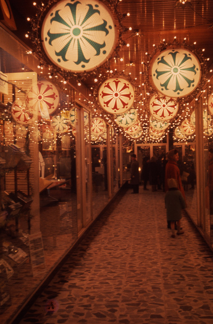 Decorations in the Callers Arcade