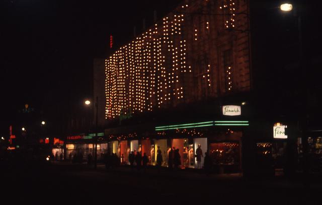 Fenwicks christmas lights