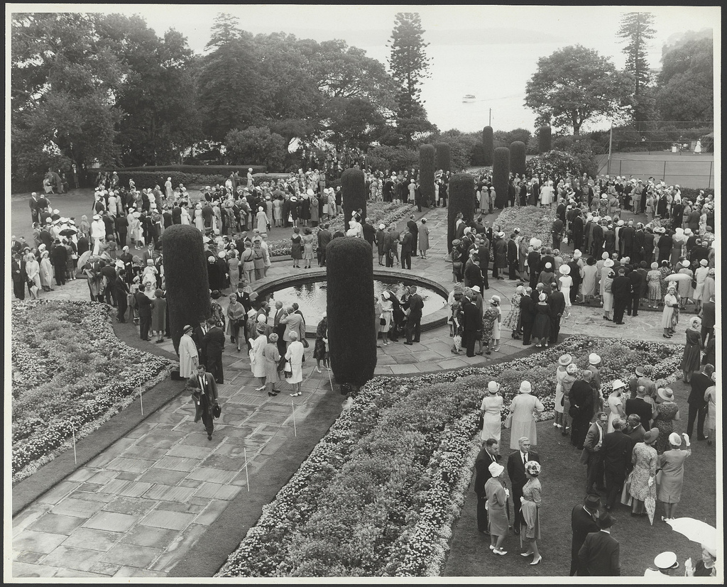 Royal visit 1963 - Garden Party at Government House, Sydney NSW