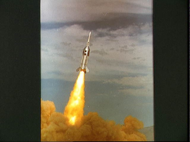 View of the liftoff of Little Joe II