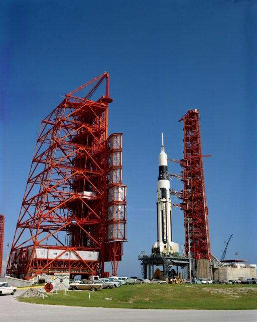 Radio Frequency Interference Test - Launch Complex (LC)-37A - Cape