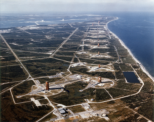 Aerial View of Missile Row