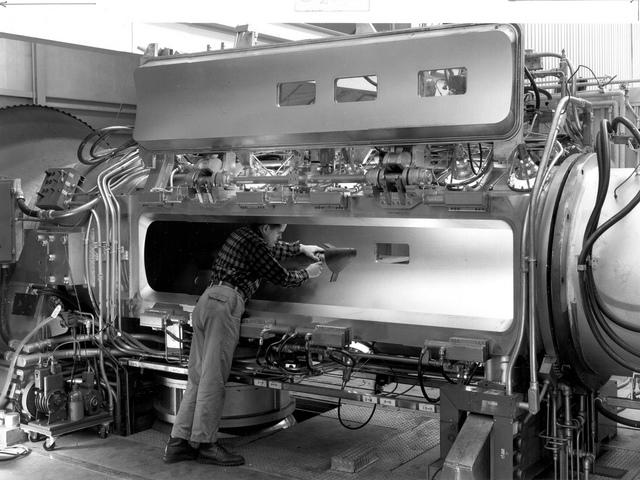 M-1 Model in Hypersonic Tunnel