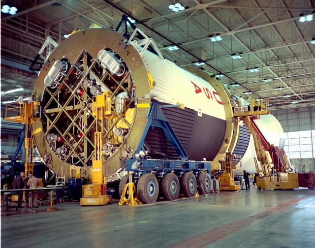 Saturn V Tanks Mated