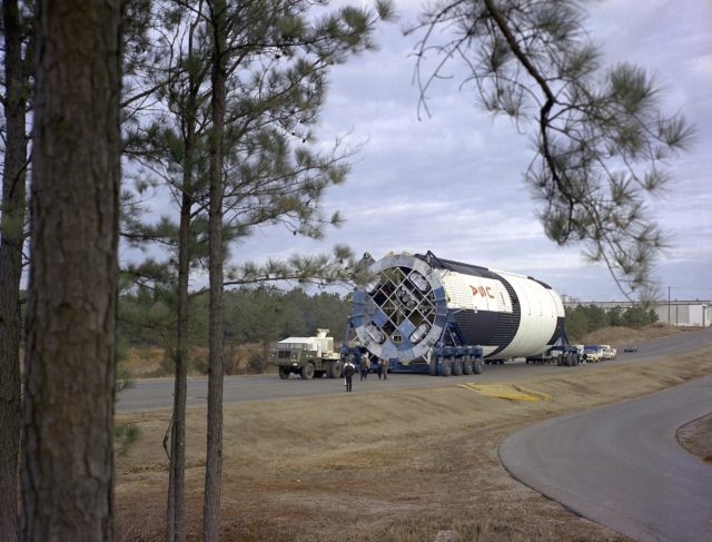 Saturn V S-IC-T stage (static testing stage)