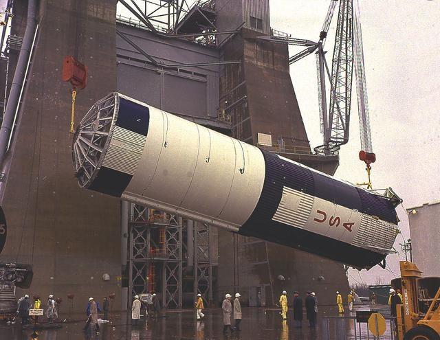Saturn V S-IC-T stage - Saturn Apollo Program