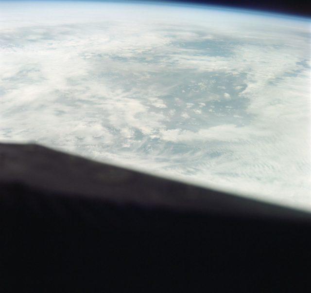GEMINI-TITAN (GT)-3 - EARTH - SKY VIEW - AFRICA