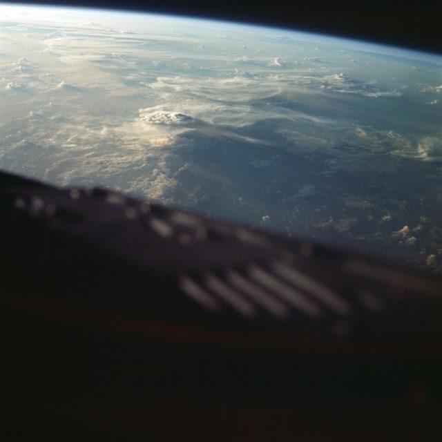 GEMINI-TITAN (GT)-3 - EARTH - SKY VIEW - MADAGASCAR (MALAGASY)