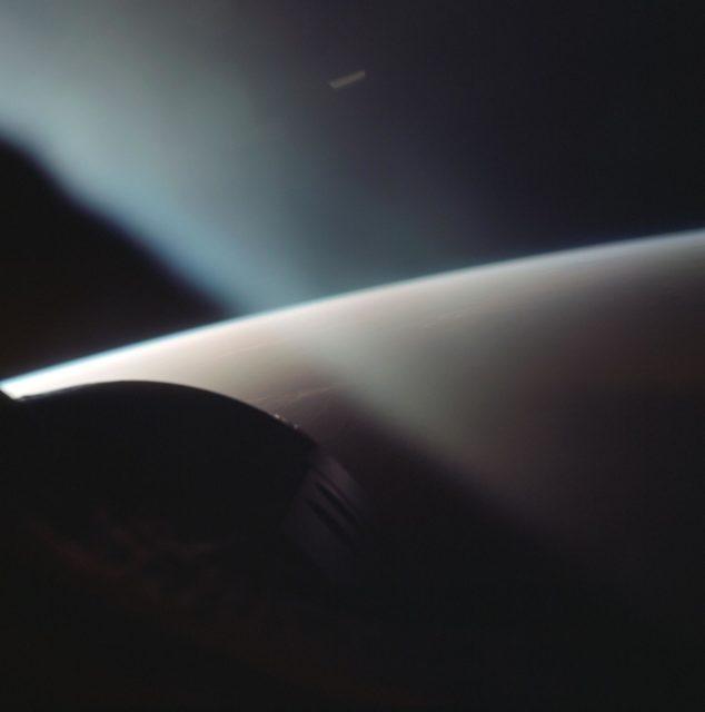 GEMINI-TITAN (GT)-3 - EARTH - SKY VIEWS