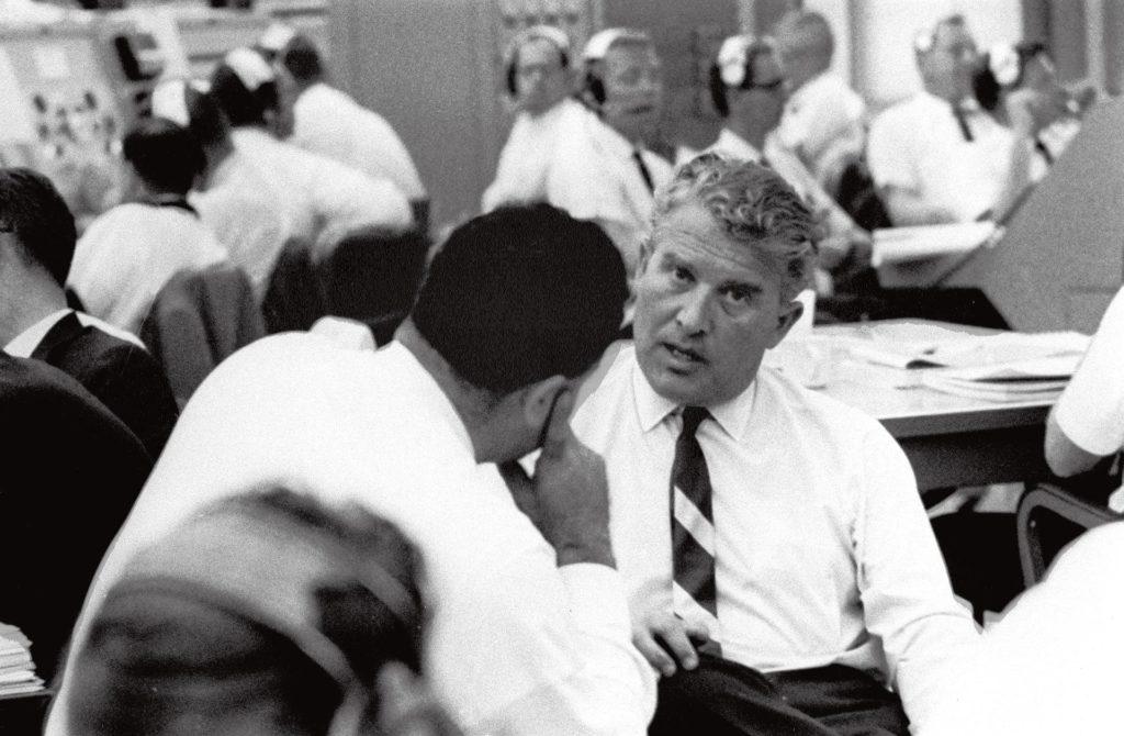 Wernher Von Braun Talks With Kscs Rocco Petrone Picryl