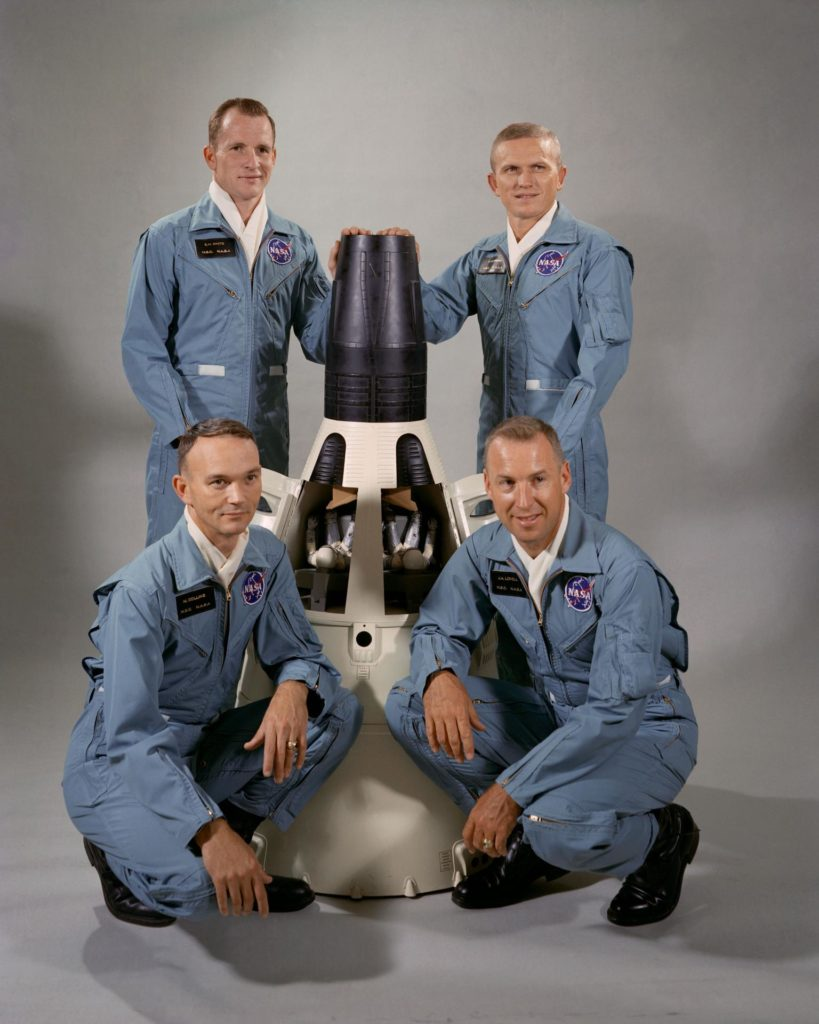GEMINI-TITAN (GT)-7 - PRIME AND BACKUP CREW PROGRAM