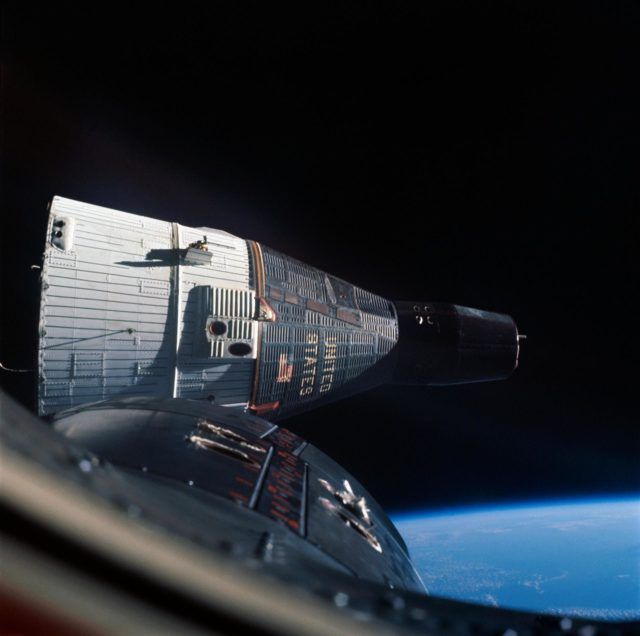 Gemini-Titan (GT)-6 - Gemini 6 of 7 - Space Photography - Outer Space