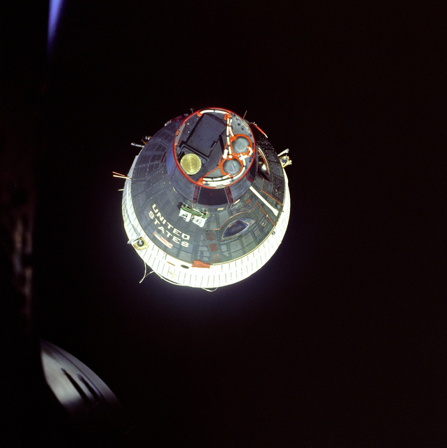 Gemini 6 and Gemini 7 Rendezvous