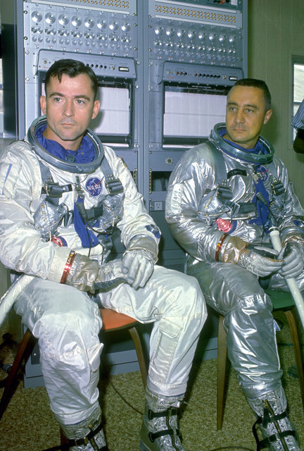 Gemini 6 Back-Up Crew
