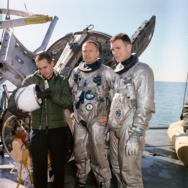 Gemini-Titan-8 Training - Water Egress