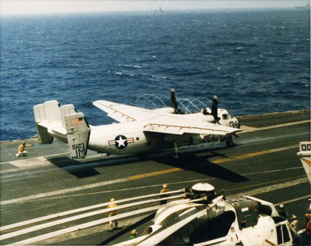Grumman C-2A 155123 VR-24 JM34 c79 mfr [GHC via RJF]