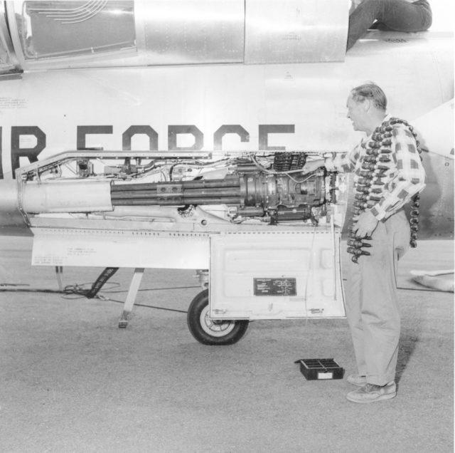 Lockheed F-104 20mm  M61 Vulcan autocannon [mfr LA 265-2 via RJF]
