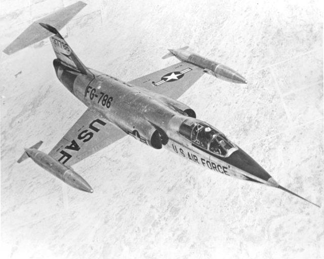 Lockheed F-104A 53-7786 [USAF via RJF]