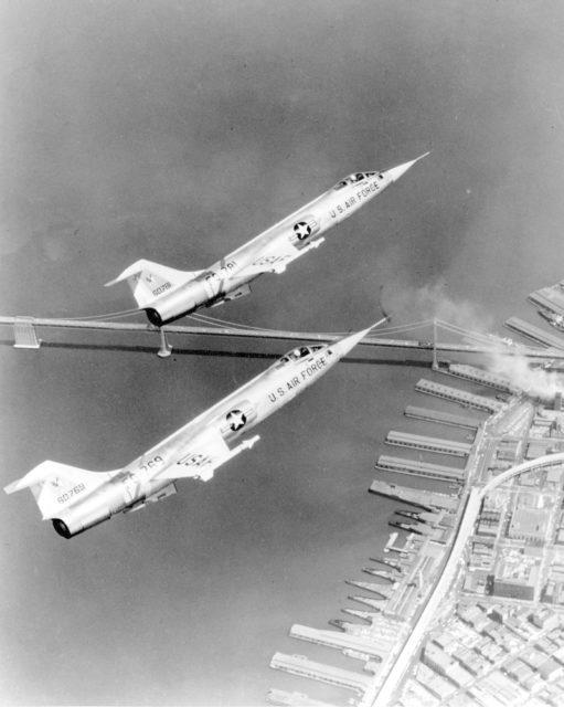 Lockheed F-104A 56-0769 [mfr LA 1213 via RJF]