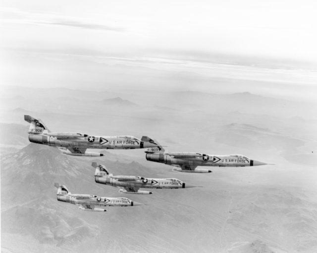 Lockheed F-104C 56-0906 [mfr LA-789  via RJF]