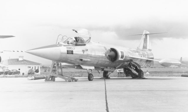 Lockheed F-104G cn 4013 61-2613 141st Sqd Turkish AF  (Jelle Sjoerdsma via RJF)