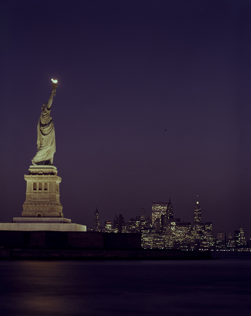 [Statue of Liberty at Dusk]