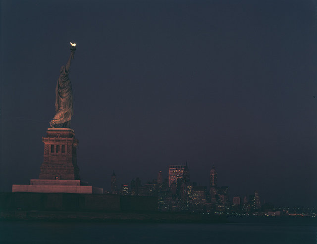 [Statue of Liberty at Twilight]