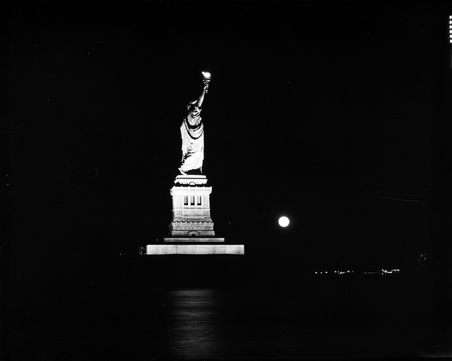 [Statue of Liberty During Blackout]