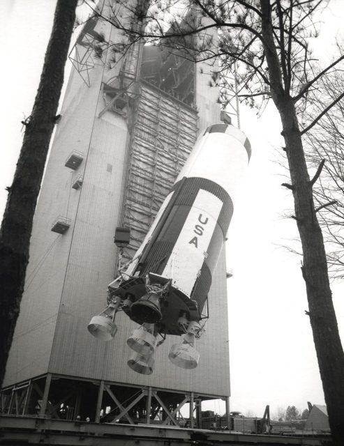 Saturn V ground test booster - Saturn Apollo Program